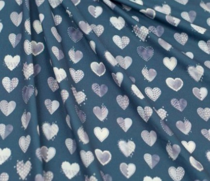 blue hearts special needs onesie