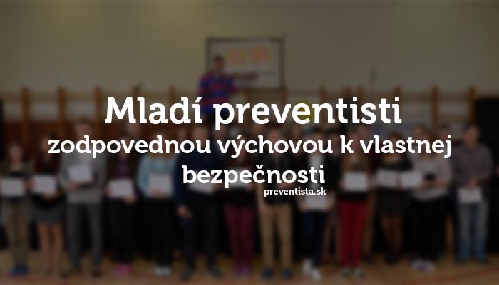 """Šahanskí """"mladí preventisti"""""""