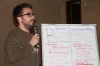 Caso B : ciascun capogruppo o facilitatore spiega agli altri ciò che è emerso dal confronto