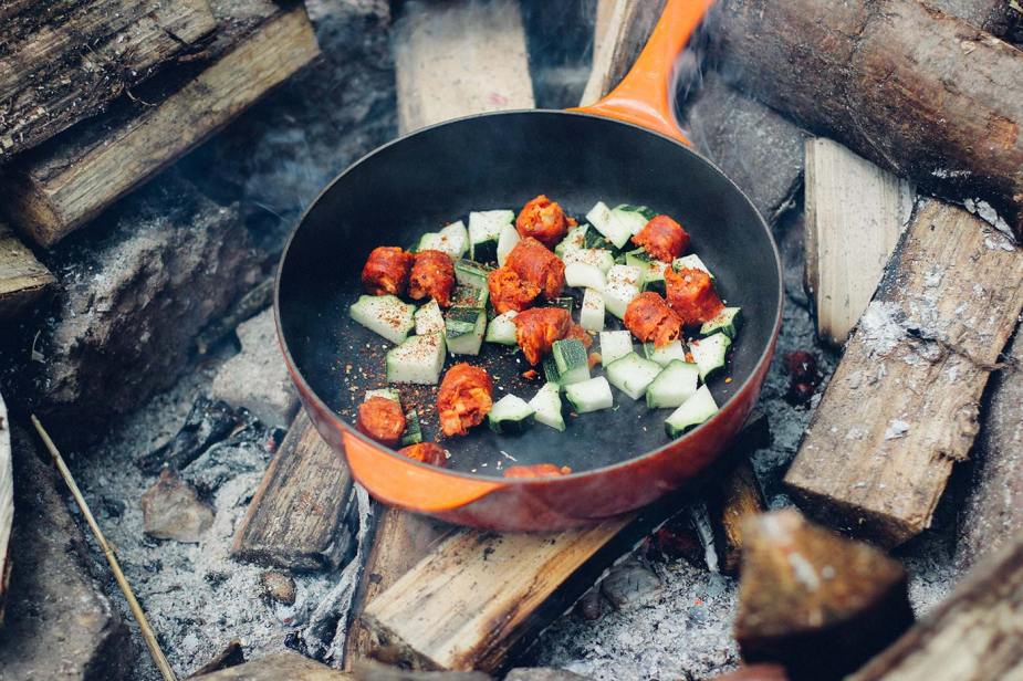 You can even cook this meal on the campfire, we've done it!