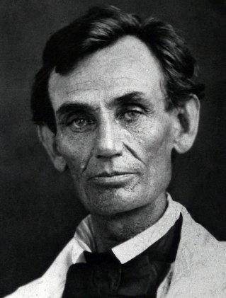 Lincoln looking dapper.