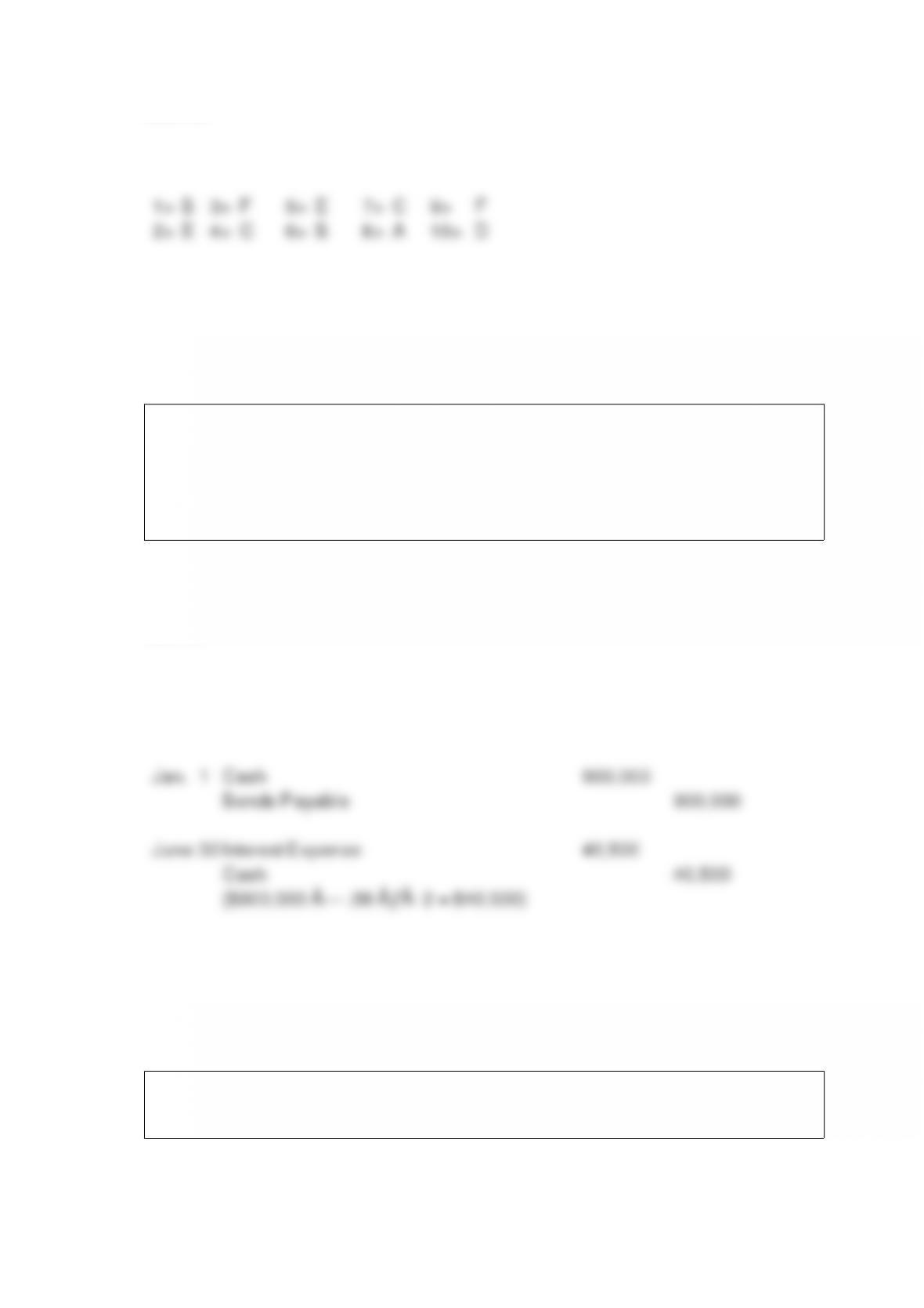 Accounting 286 Quiz 2