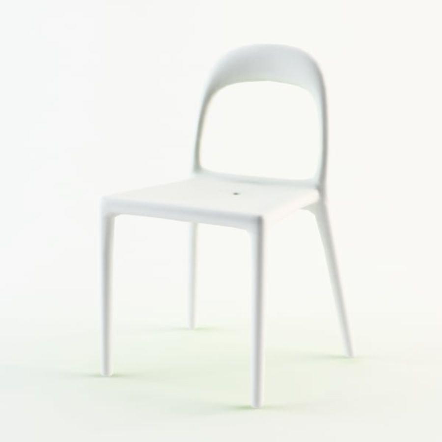 ikea urban chair 3d model 10 obj