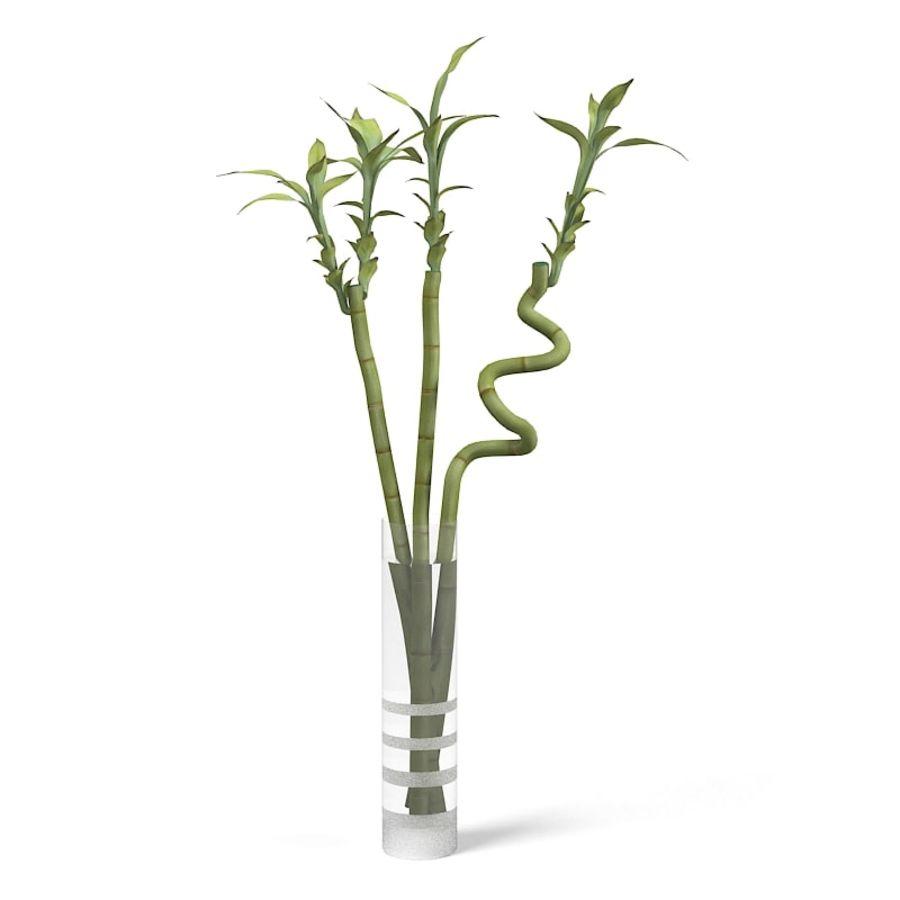 Bambou Chanceux D Ikea Dans Le Vase Modele 3d 28 Obj Fbx 3ds Max Free3d