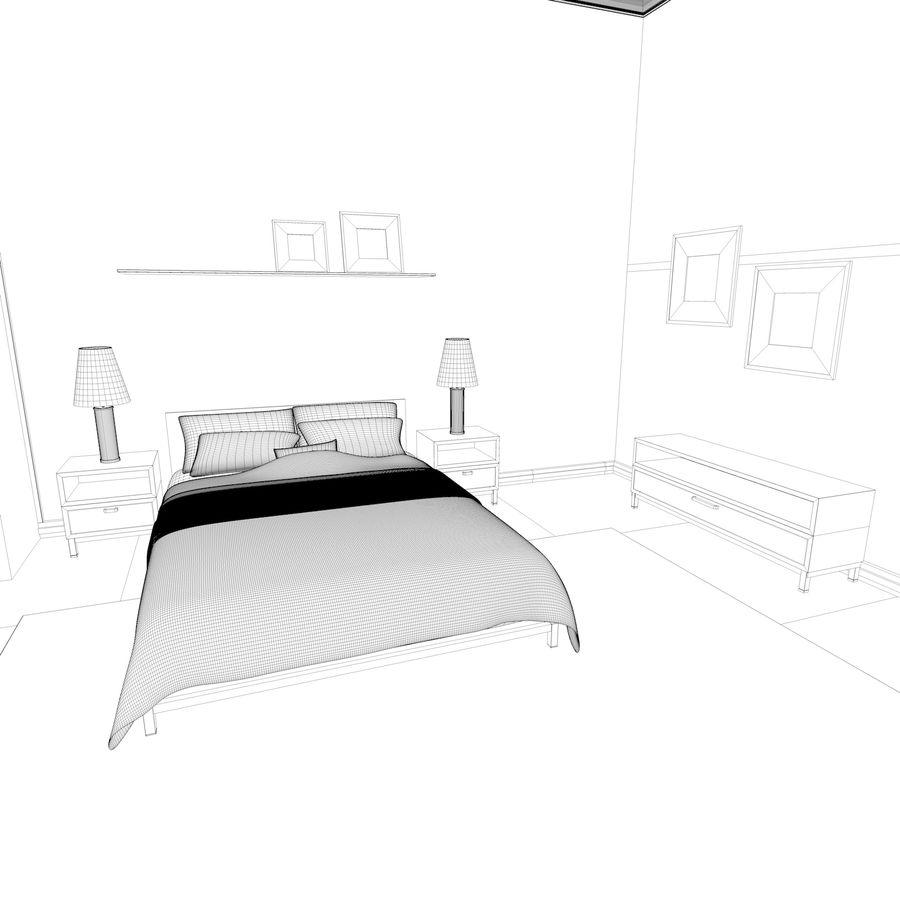 Chambre Modele 3d 99 C4d Free3d