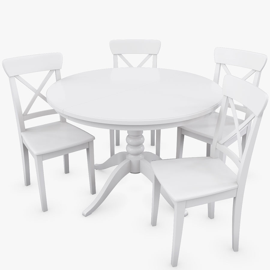 ingolf chairs 3d model