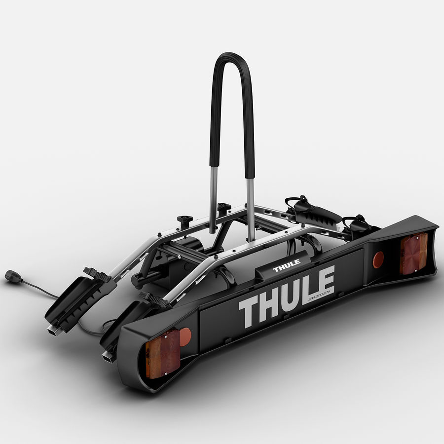 car trunk rack bicycle carrier thule 3d