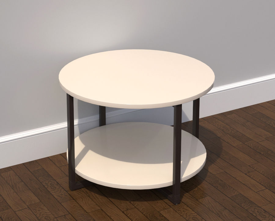 ikea rissna table collection 3d model