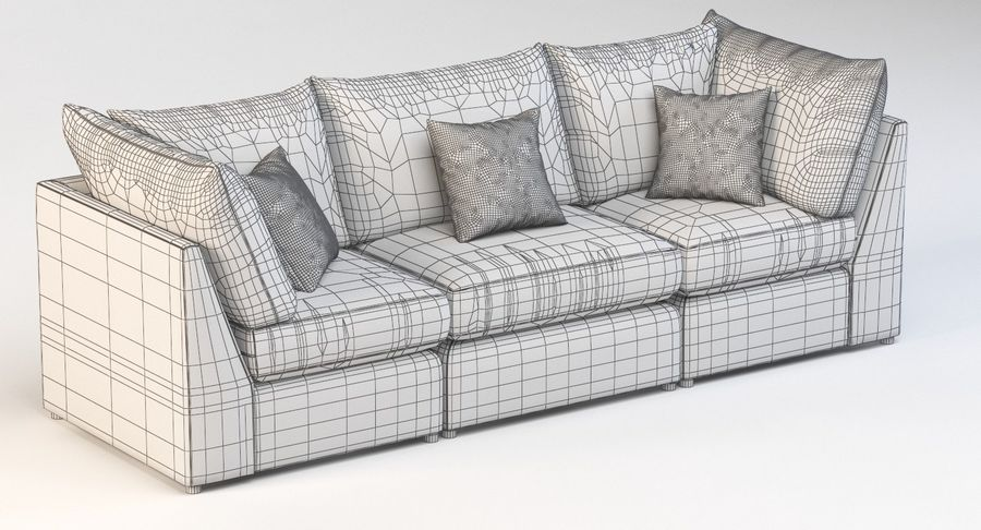 bassett beckham pit sectional sofa
