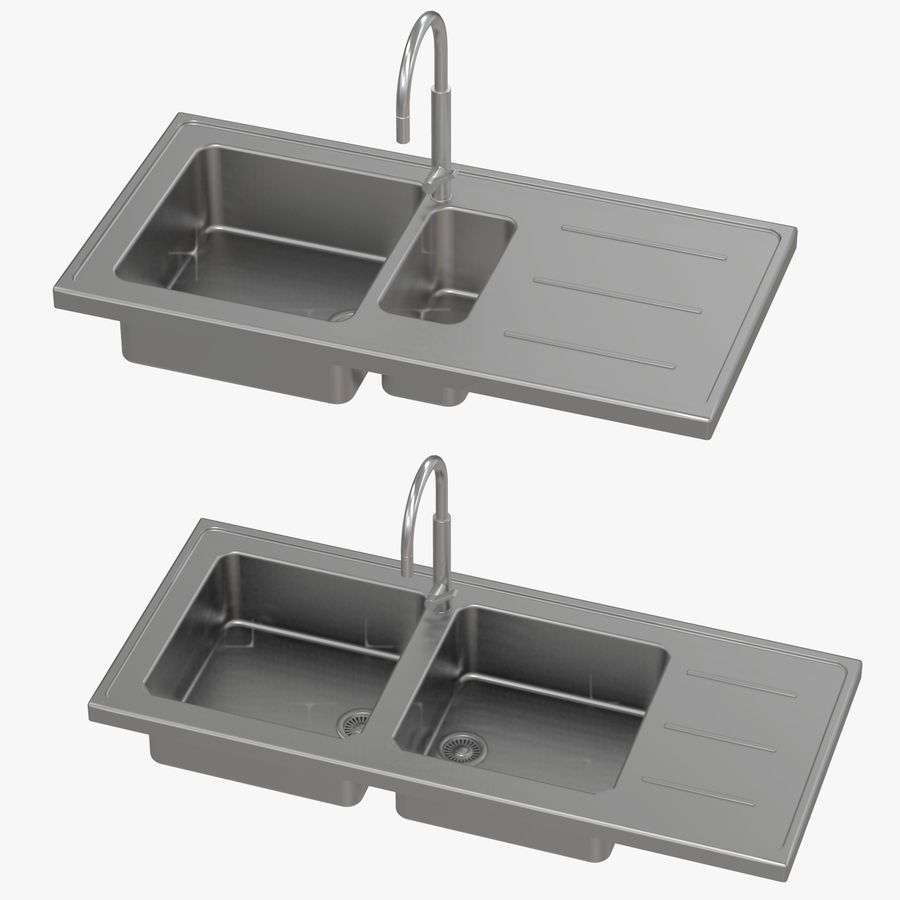 franke kitchen sinks 3d model 29