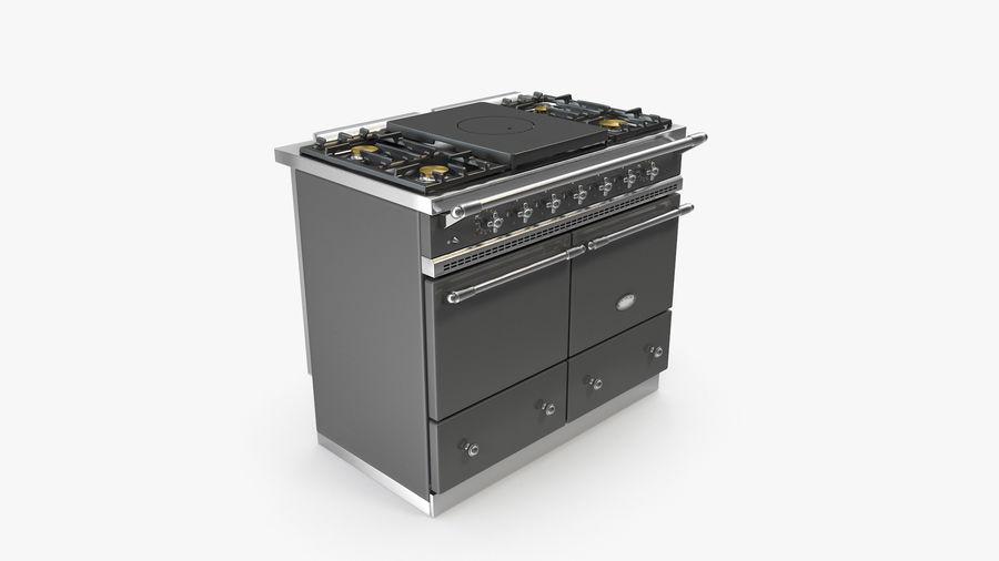 Lacanche Cluny 1000 Chrome Trim Range Cooker 3d Model 49 Gltf Obj Ma Max Upk Unitypackage C4d Fbx Free3d
