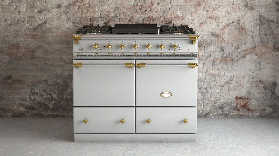 Lacanche Cluny 1000 Brass Trim Range Cooker 3d Model 49 Max Gltf Obj Ma Upk Unitypackage C4d Fbx Free3d