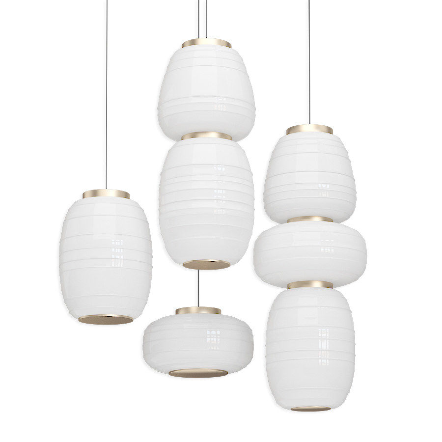 b lux misko collection of lamps 3d