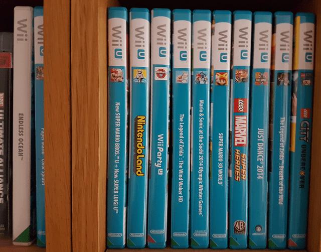 Rex's Wii U library