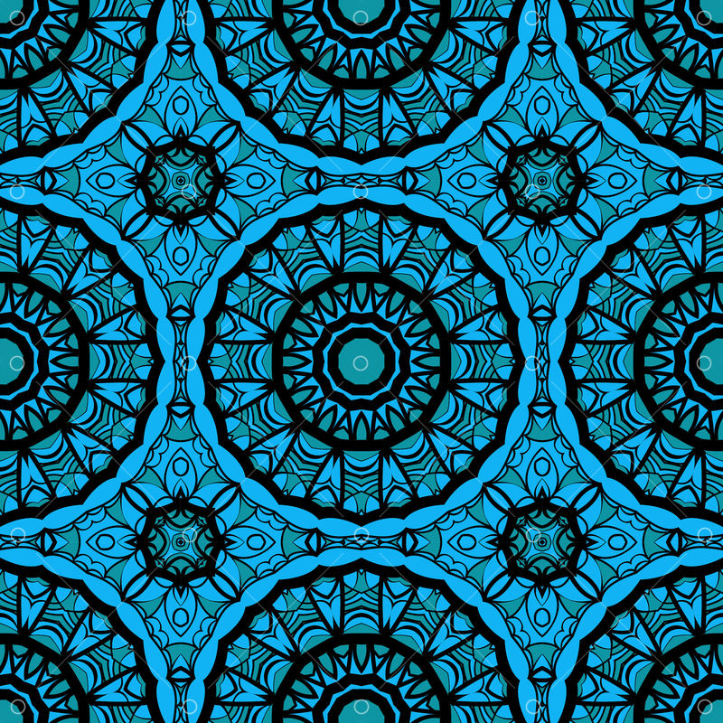 oriental design with seamless mandala illustration design for background invitation card etc vector illustration blue color graphic vector stock by pixlr