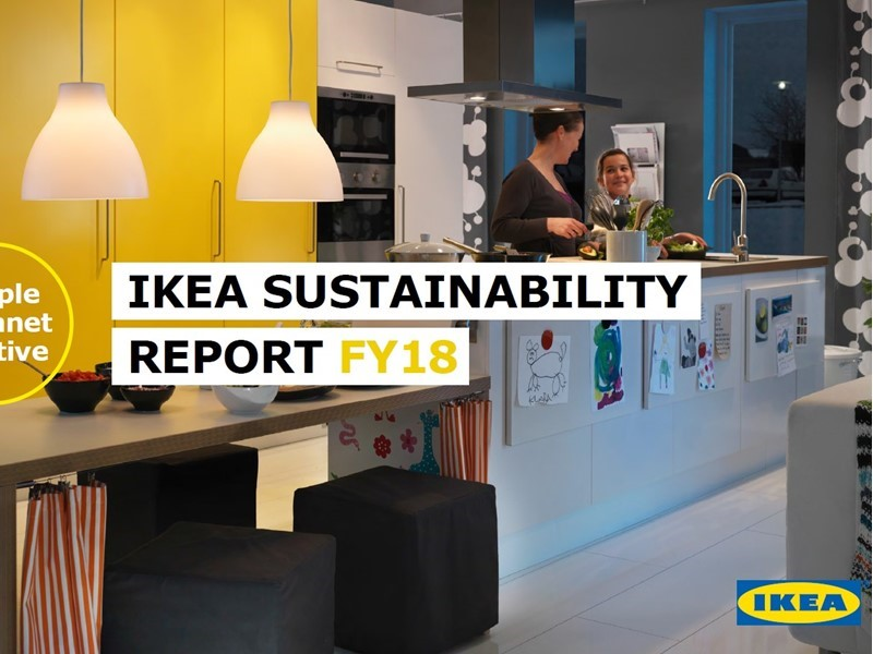Inter Ikea Group Newsroom Ikea Sustainability Report Fy18