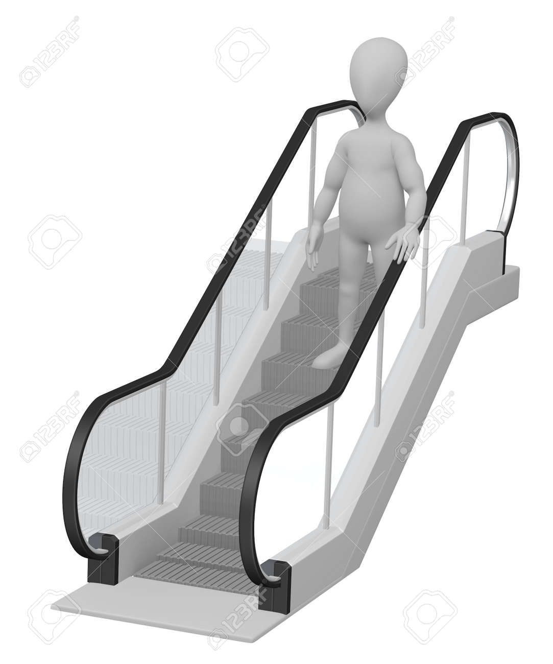 Image result for cartoon pic of escalator