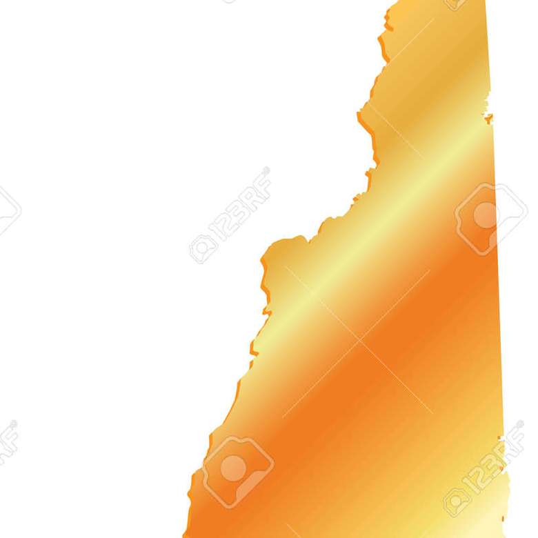 HD Decor Images » 3D New Hampshire State USA Gold Map Royalty Free Cliparts  Vectors     3D New Hampshire State USA Gold map Stock Vector   60194931