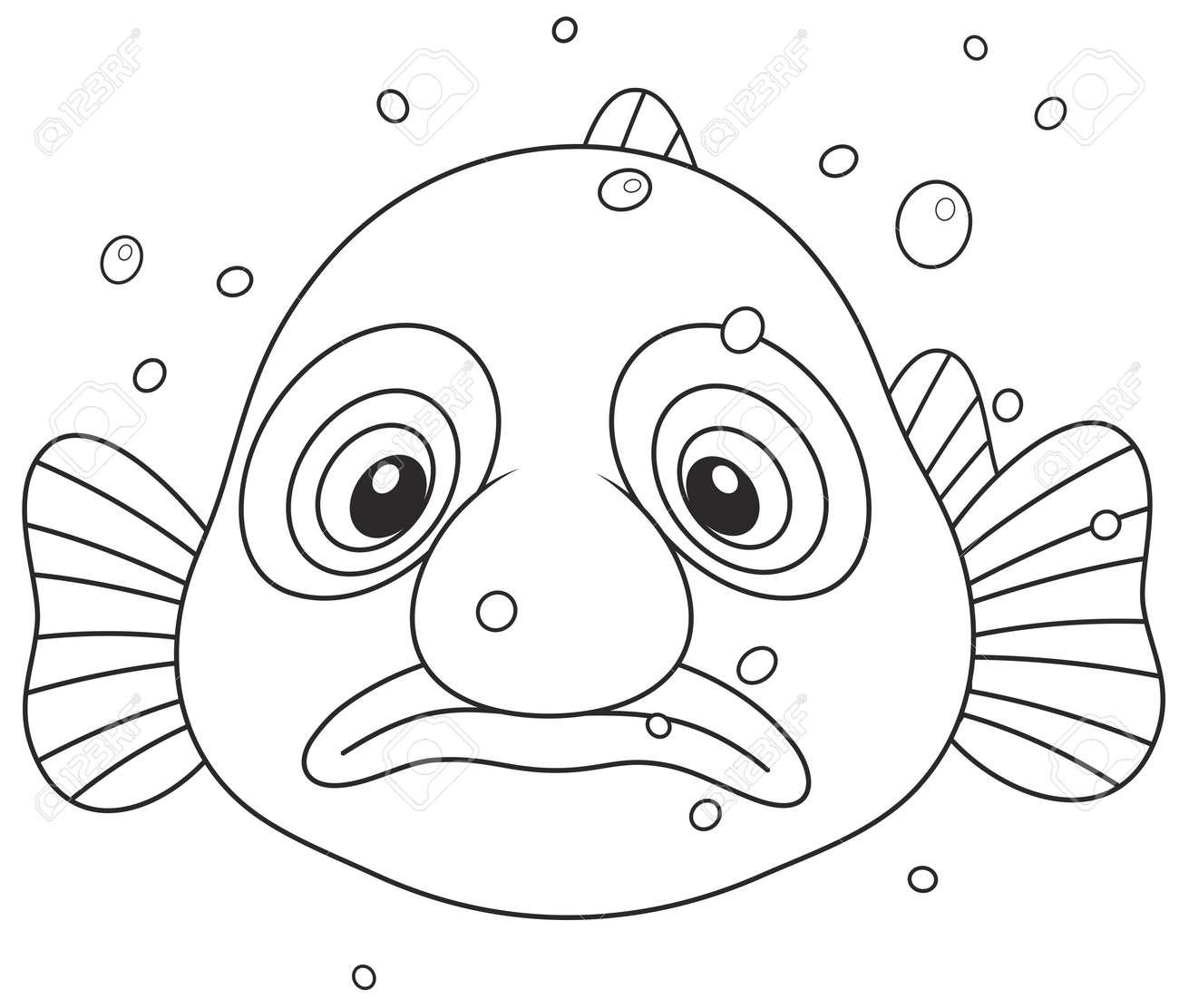 Blob Fish Royalty Free Cliparts Vectors And Stock Illustration