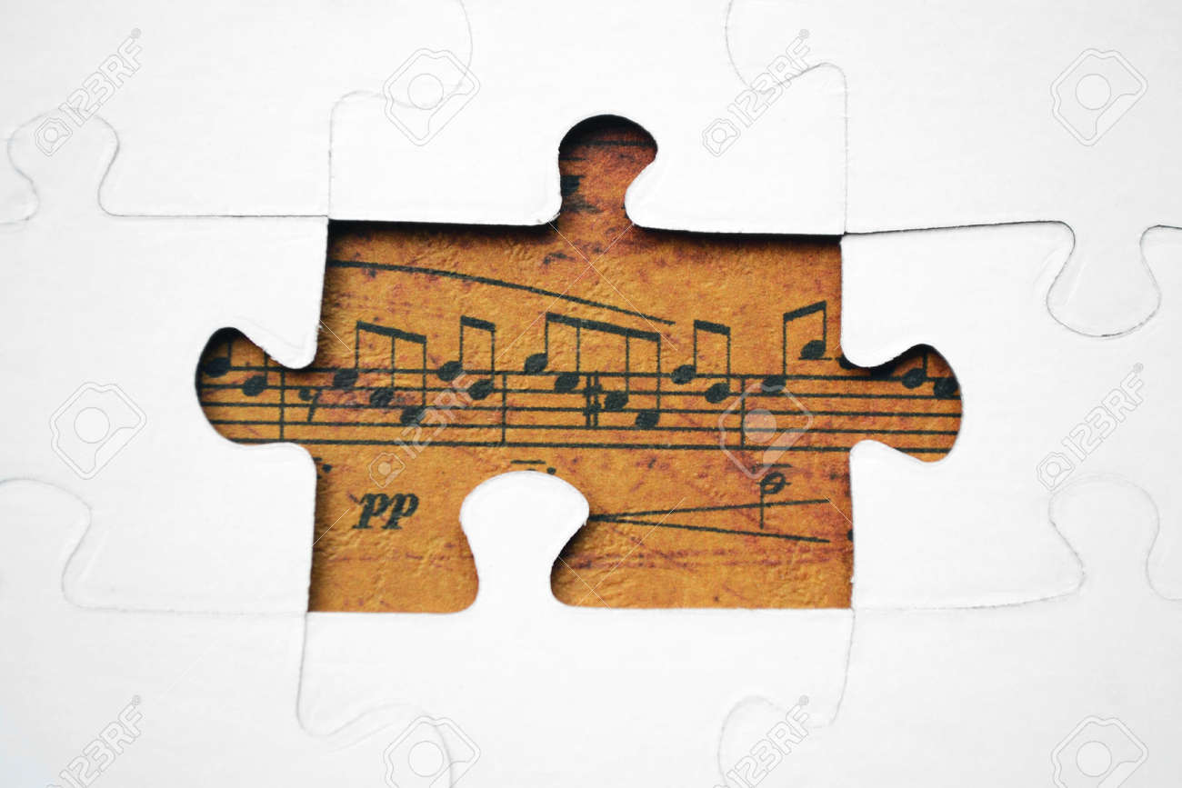Stock photo from http://www.123rf.com/photo_15604523_music-puzzle-concept.html