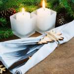 Rustic Christmas Table Setting For Christmas Eve Winter Holydays Stock Photo Picture And Royalty Free Image Image 69346633