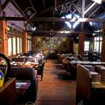 Beam Of Sunshine Onto The Room Of Classic Restaurant Interior Stock Photo Picture And Royalty Free Image Image 54973266