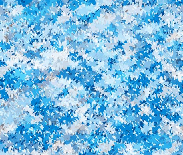 Seamless Jagged Abstract Pattern Cold Blue Geometric Background Web Design Texture Vector Stock