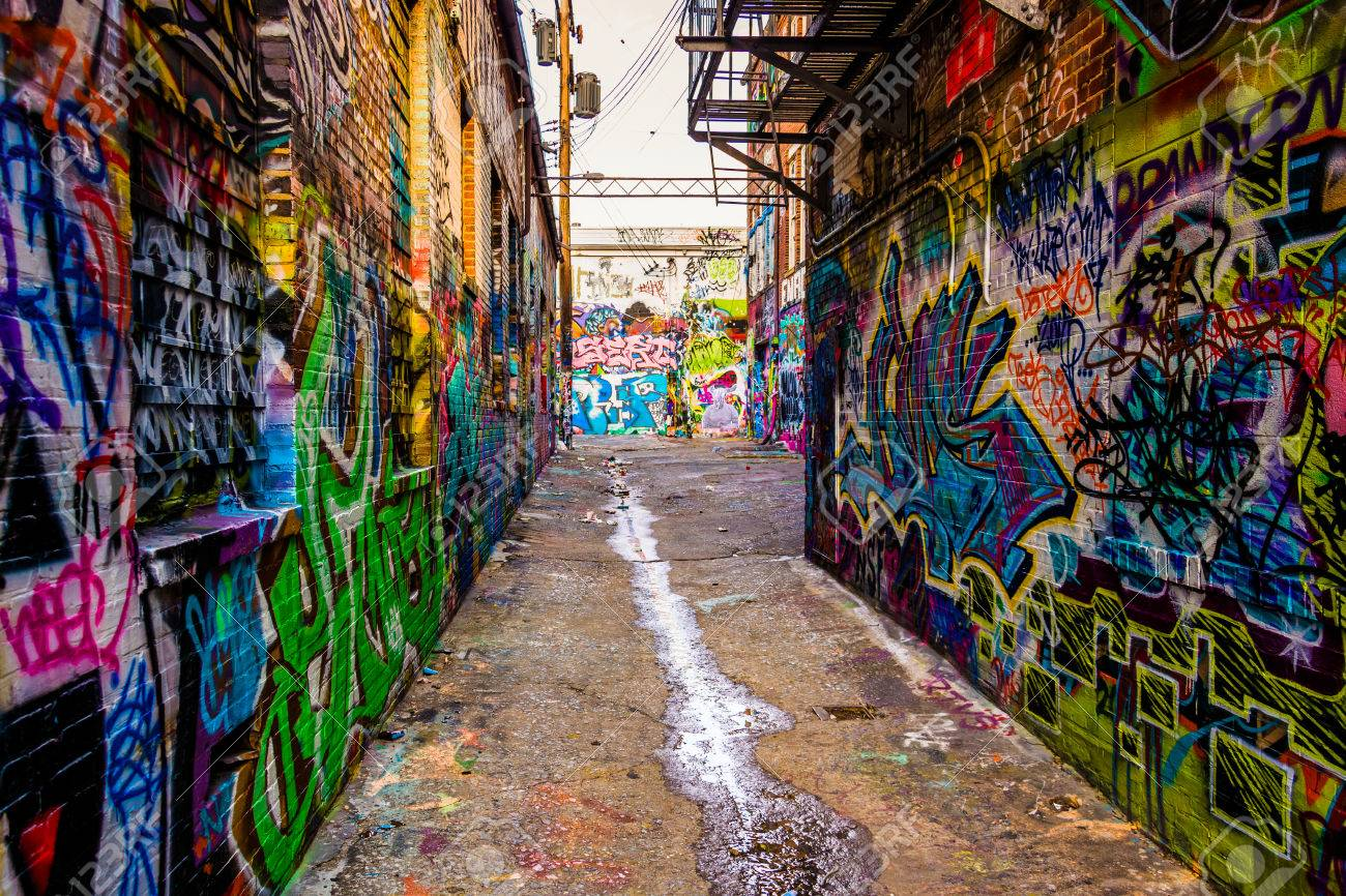 Image result for graffiti alley