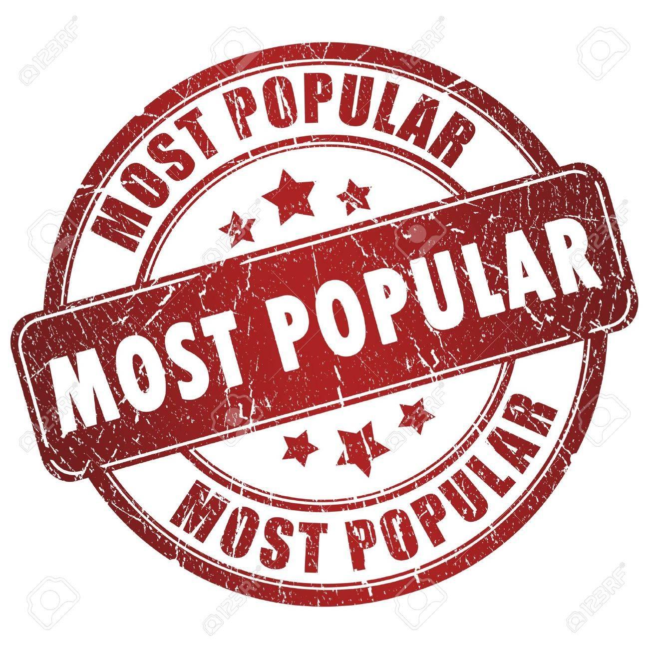 Most Popular Stamp Stock Photo 15559567