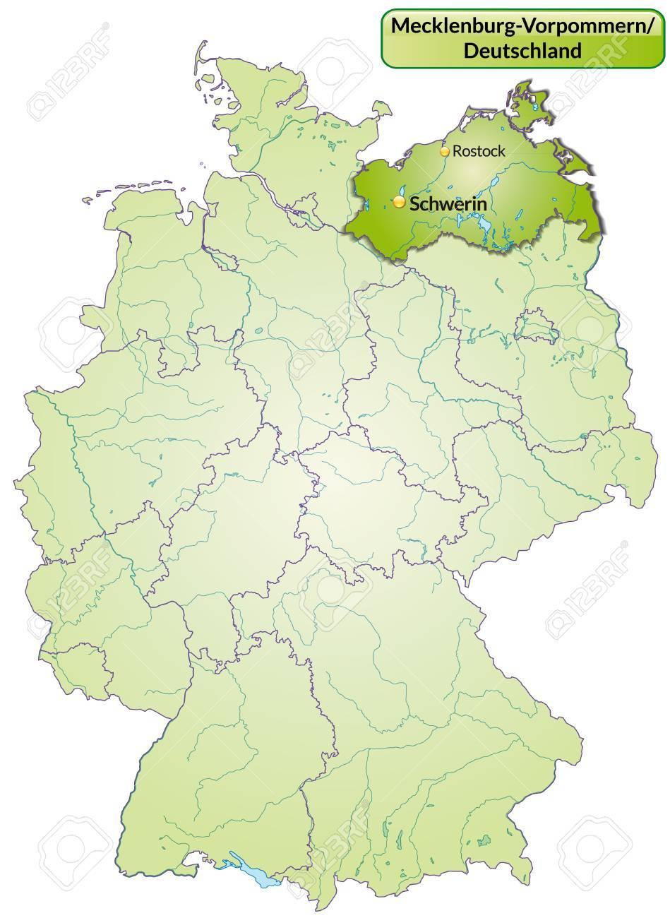 Image result for map Mecklenburg-Western Pomerania