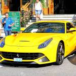 Monte Carlo Monaco August 2 2014 Yellow Sports Car Ferrari Stock Photo Picture And Royalty Free Image Image 37796026