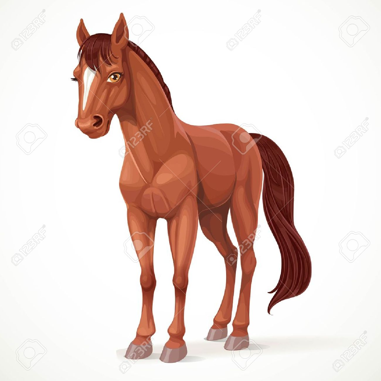 5,555 brown horse cliparts, stock vector and royalty free brown