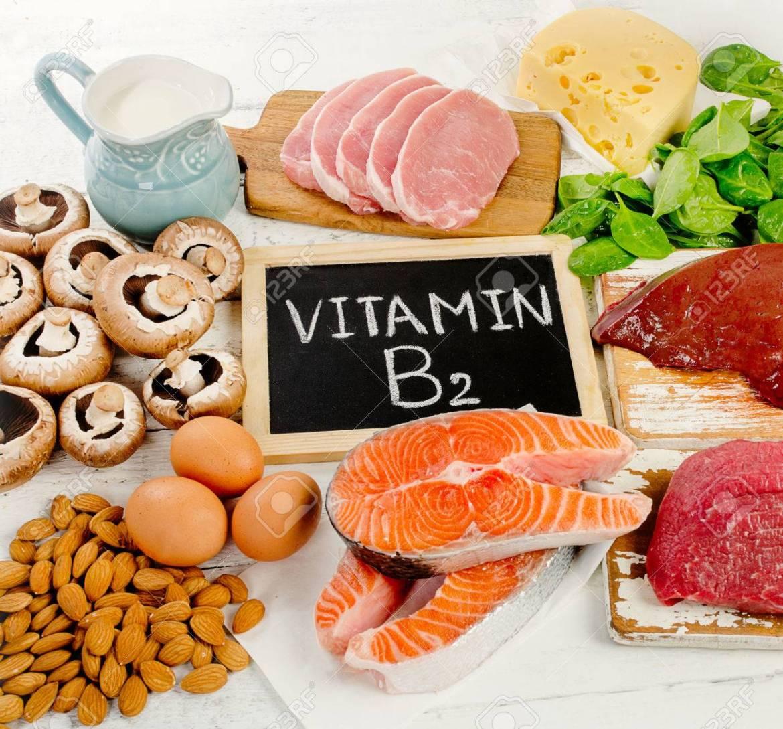 Kết quả hình ảnh cho Vitamin B2