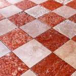 Red And White Marble Floor In Venice Stock Photo Picture And Royalty Free Image Image 15940045