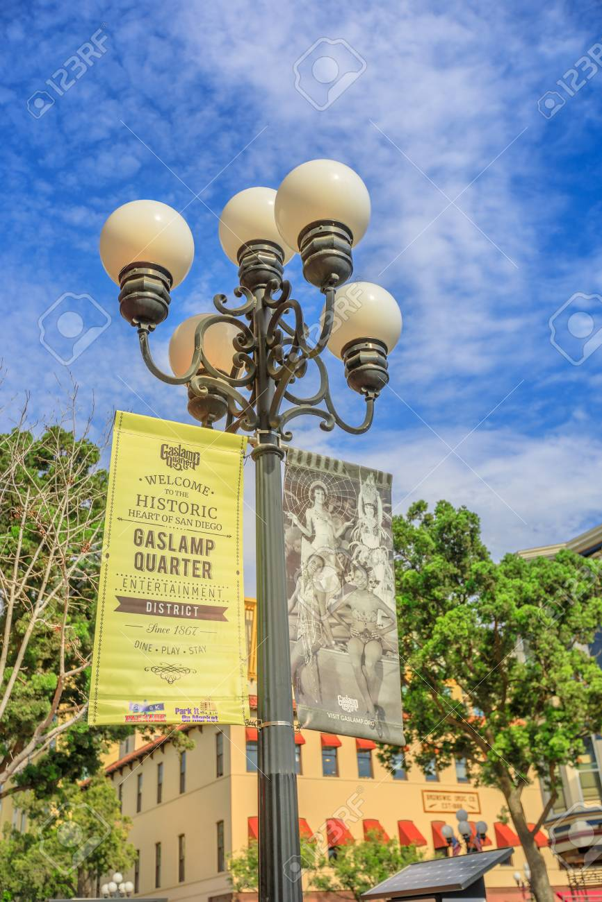 https www 123rf com photo 117320136 san diego california united states july 31 2018 typical vintage gas lamp or streetlight symbol of hi html
