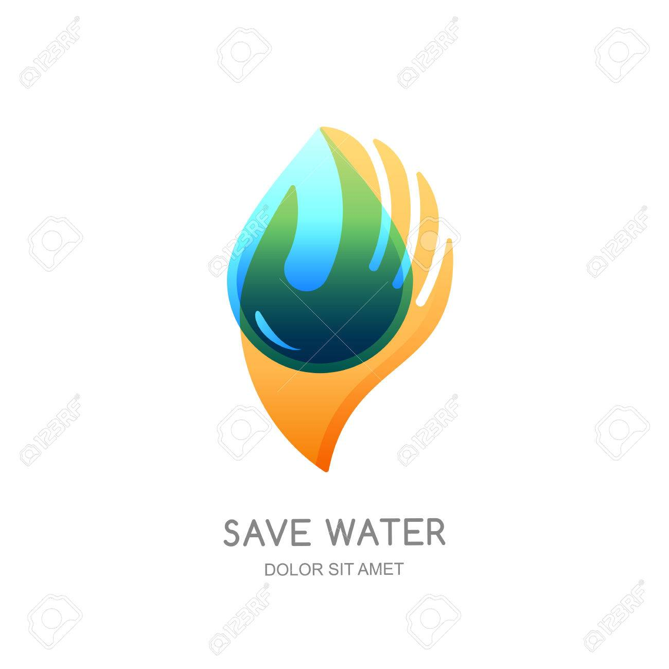 Save Water Vector Logo Design Template Abstract Transparent Royalty Free Cliparts Vectors And Stock Illustration Image 85015773