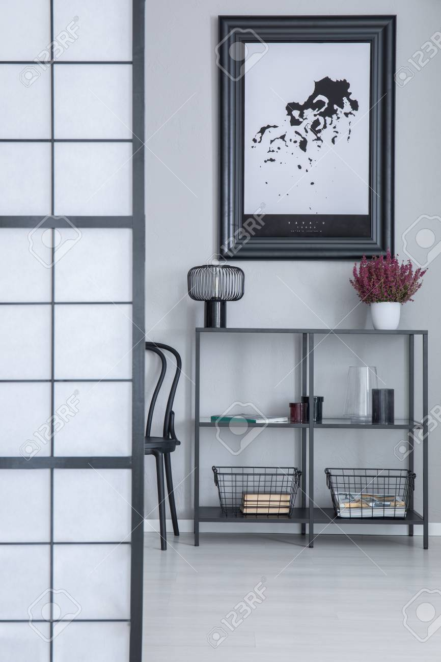 Industrial Rack With Lamp Fresh Heather Metal Baskets And Decor