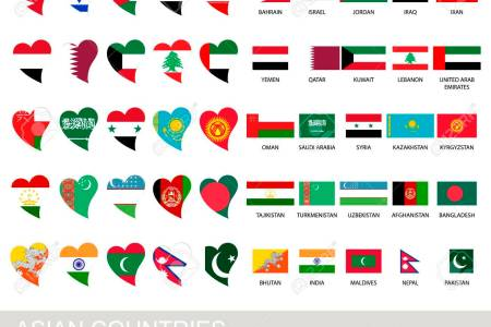 asian countries flags hd images wallpaper for downloads easy