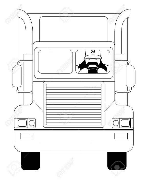 big truck cap # 61