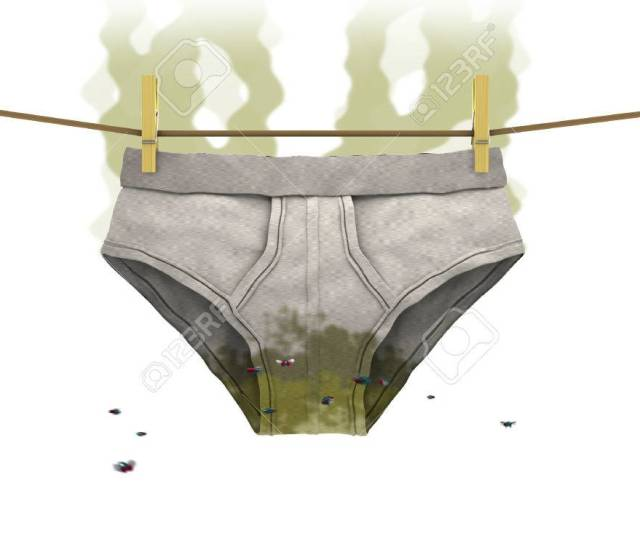 Dirty Underwear 3d Illustration Stock Illustration 65625069