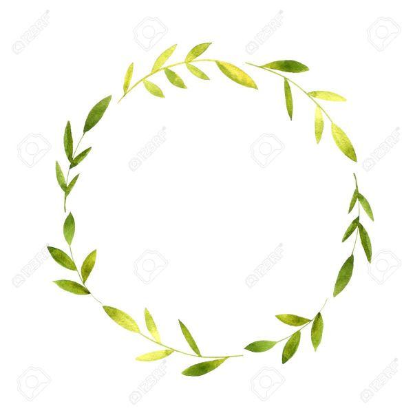 wreath template # 66