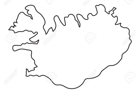 iceland map outline » Full HD Pictures [4K Ultra] | Full Wallpapers