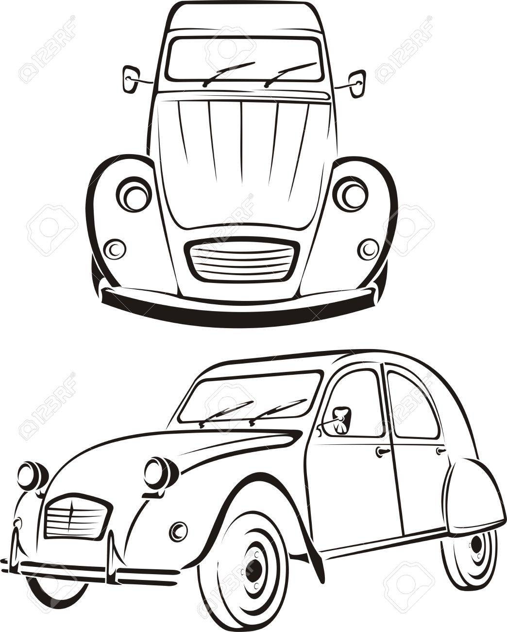 Luxury drawings of old cars inspiration wiring diagram ideas
