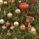 Silver Green And Red Ornaments Hanging On A Christmas Tree Stock Photo Picture And Royalty Free Image Image 2167621