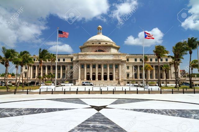 The Capitol Of Puerto Rico (Capitolio De Puerto Rico) In San ...