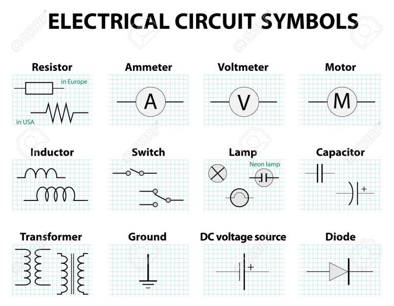 Funky Bulb Circuit Symbol Elaboration - Schematic Diagram Series ...