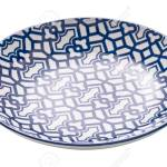 Ceramics Decorative Plates Blue And White Pottery Plate Isolated Stock Photo Picture And Royalty Free Image Image 130310985