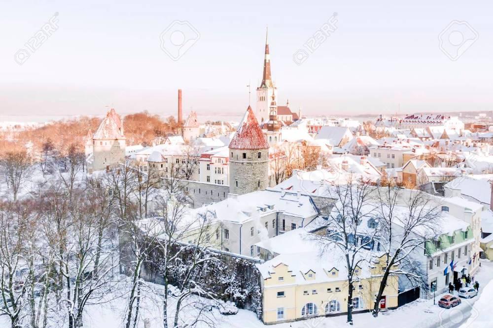 Image result for tallinn in winter