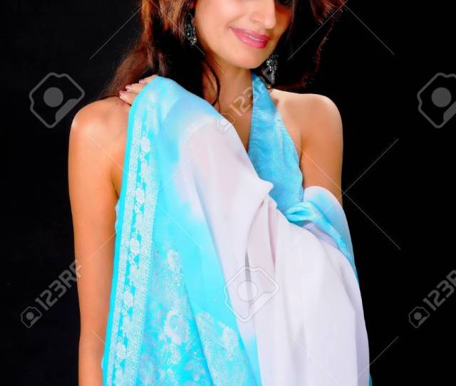 Isolated Lovely And Sexy Young Indian Girl Stock Photo Picture