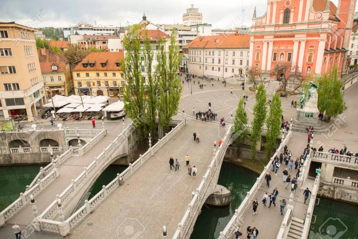 Image result for ljubljana triple bridge#